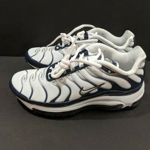 "Nike Air Max 97 Plus ""Silver Shark"" Navy White"
